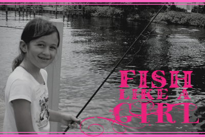 Web Event - Fish Like a Girl flyer